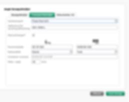 Registrer nummerplade/registreringsnummer mv. ifm. gæsteregistrering af leverancer