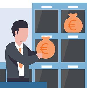Fordeling af tid på koststeder med en Workforce Management løsning fra Real Data A/S