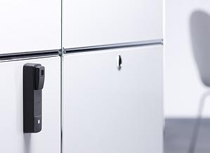 Trådløs elektronisk lås til skabe (møbler) - Real Data A/S