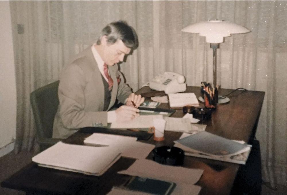 Bent Jørgensen 1980 - Real Data A/S (Interflex)