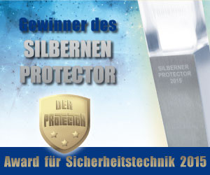 Silver Protector Award for Primion Technology - Real Data A/S