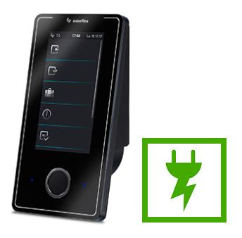 Energieffektiv terminal med lavt strømforbrug til tidsregistrering - Real Data A/S