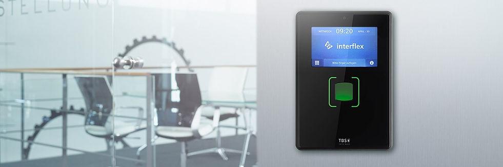 Adgangskontrol med fingeraftryk, biometri - Real Data A/S