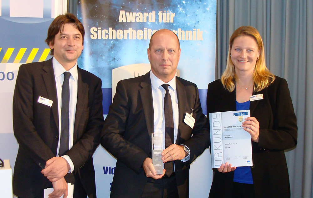 Protector Award - Primion Technology - Real Data A/S