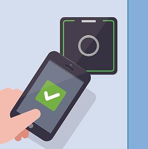Adgangskontrol (ADK) med smarphone app fra Real Data A/S