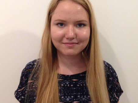 Verena Polifka er vores tyske praktikant
