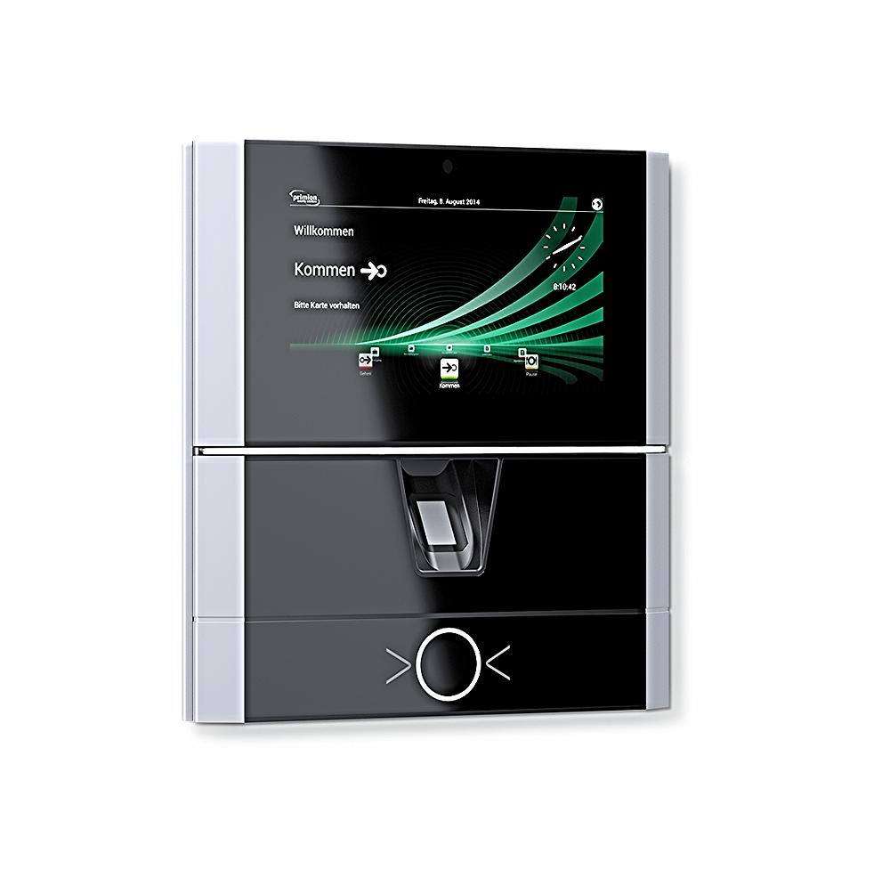 Hardware terminal til tidsregistrering - Real Data A/S