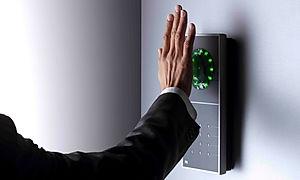 Adgangskontrol med håndvene (vene) scanning biometri hardware - Real Data A/S