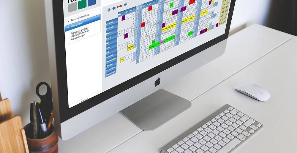 Tidsregistrering og fraværsregistrering med automatiske notifikationer - Real Data A/S