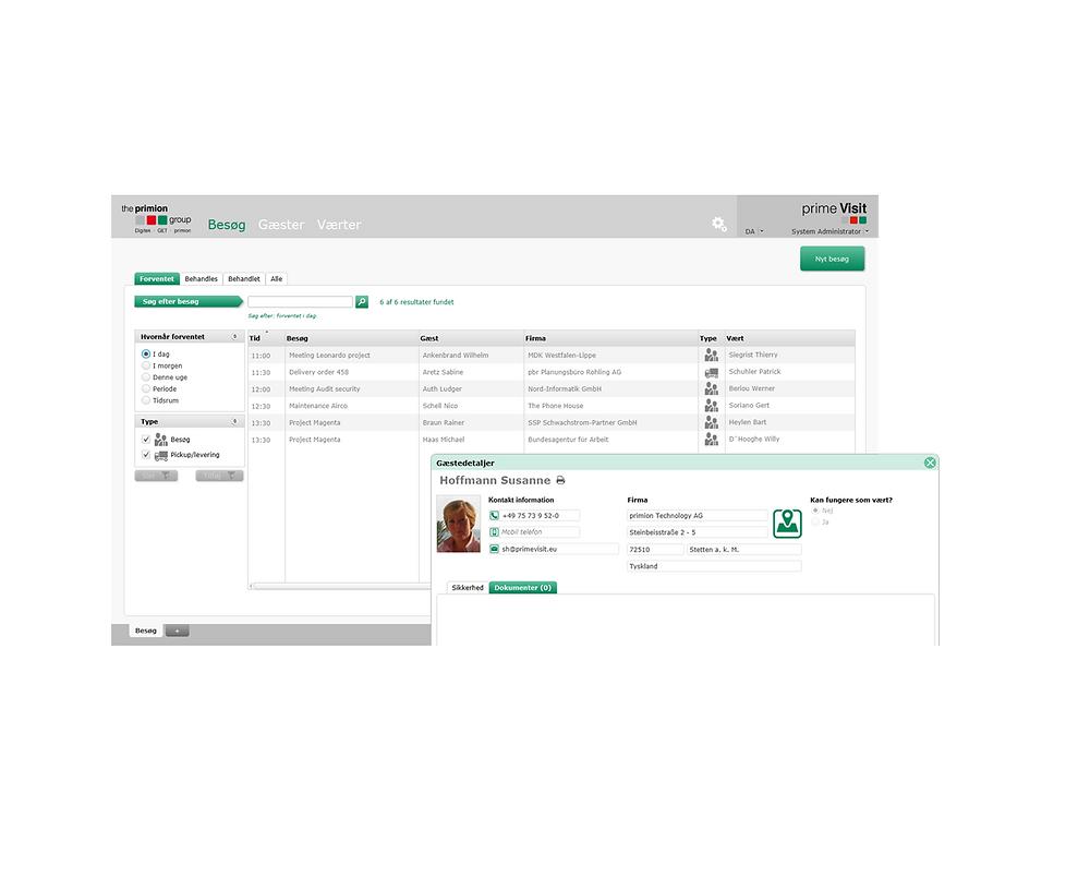 Gæsteregistrering med Prime Visit - Real Data A/S