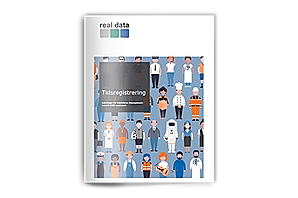 Brochure om tidsregistrering, fraværsregistrering og personaleplanlægning fra Real Data A/S