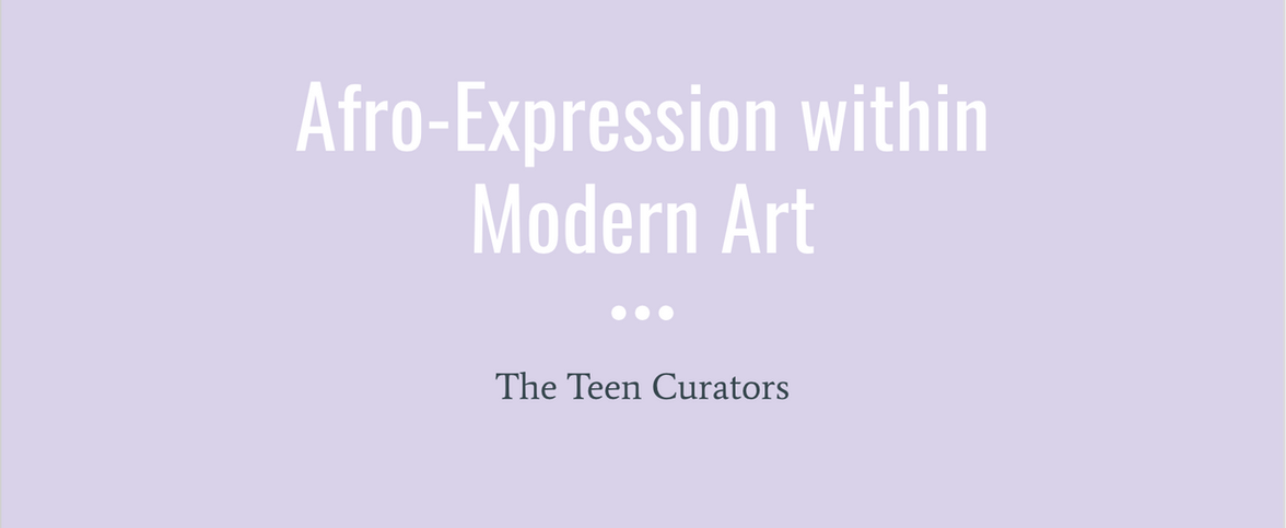 Afro-Expression within Modern Art