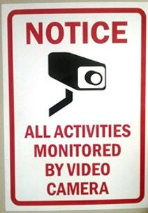 surveillance monitoring, security camera
