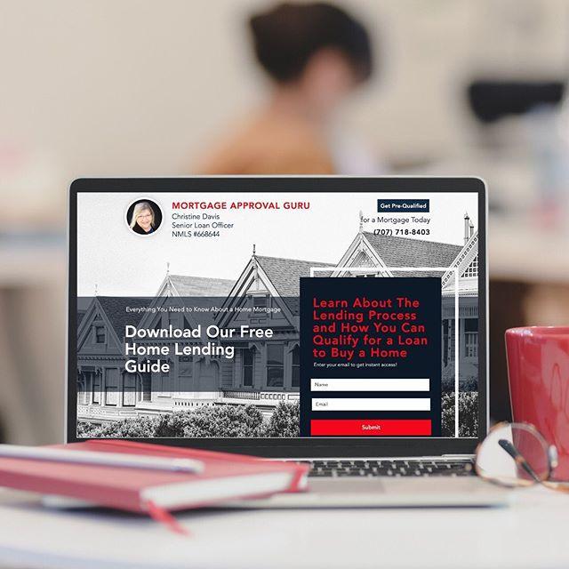 Christine Davis - Loan Officer Landing Page