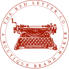 The Red Letter Co.   Long Form Logo