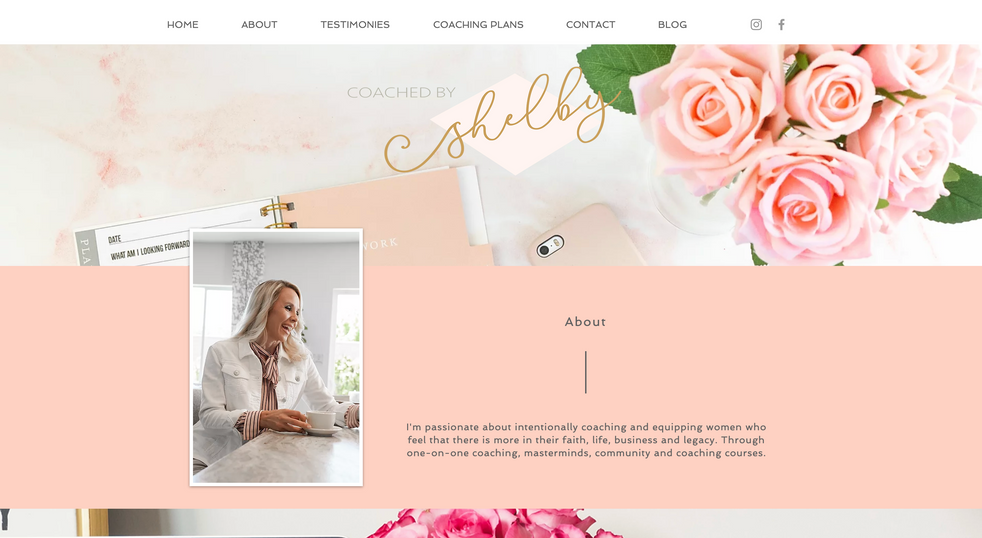 Shelby Seeley Coaching   Website