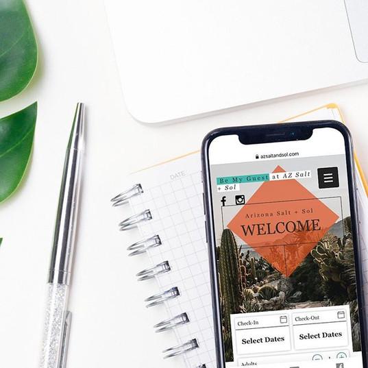 AZ Salt & Sol   Airbnb Mobile Website
