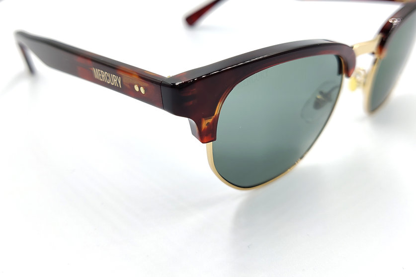 Browline Sunglasses Havana Acetate Nylon