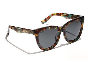 Juniper III - Forrest Green Havana Butterfly Sunglasses