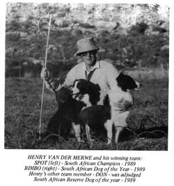 Henry van der Merwe 1989