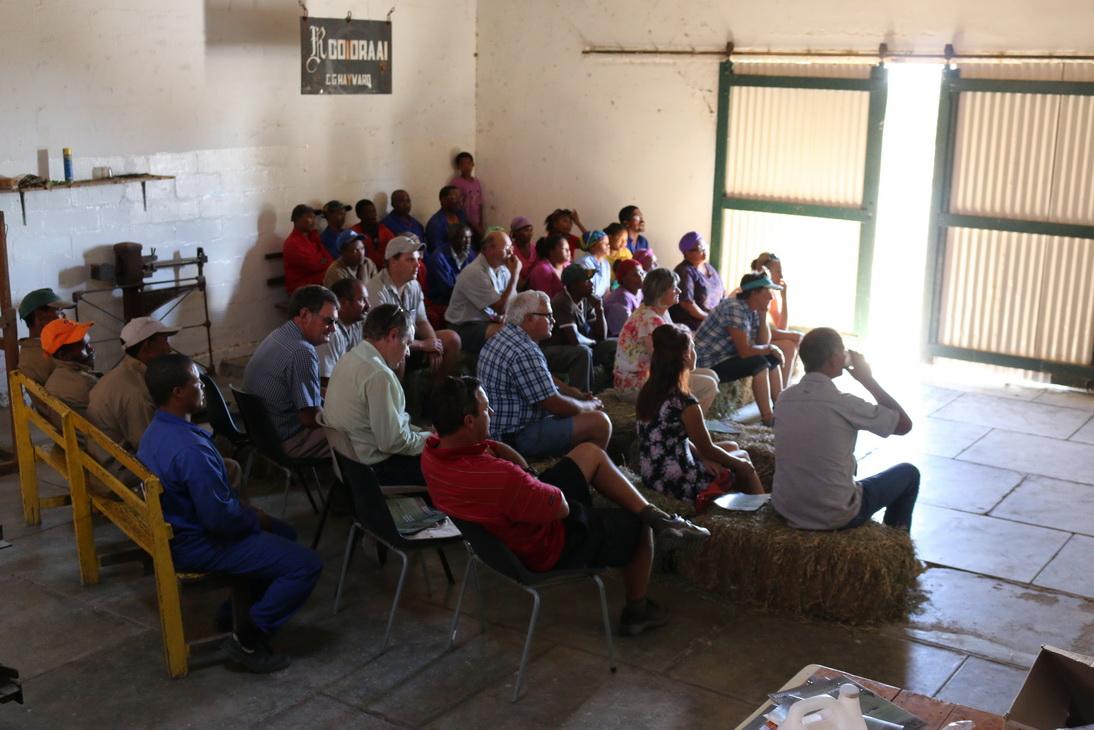 2015 Rooidraai course