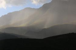 JKloof rain on the mountain