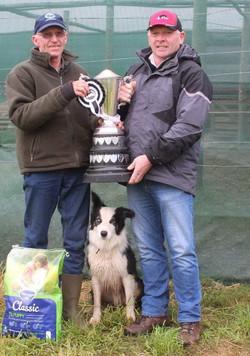Nationals winner Andrew Philip and Flint