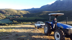 JKloof hill trial tractor ride