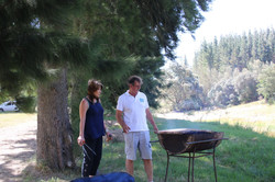 Suzette and Jurie the perfect braai