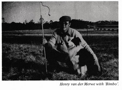 Henry vd Merwe with Bimbo