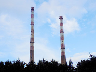Poolbeg Chimneys / Generating Station
