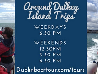 April & May Schedule | Dublin Boat Tour