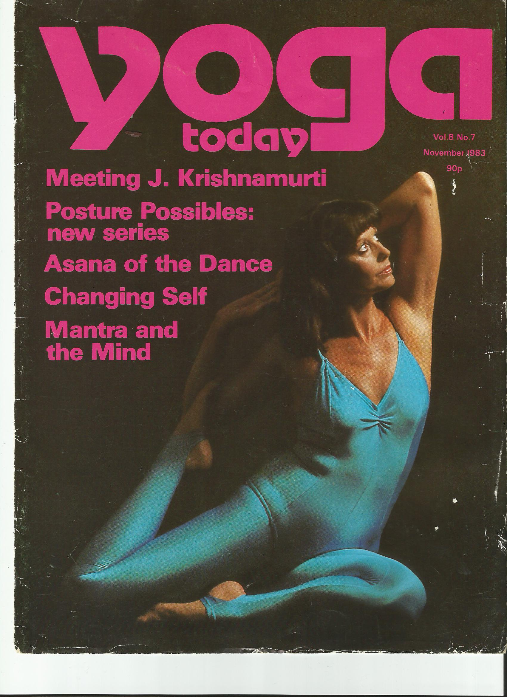 Yoga today 1983