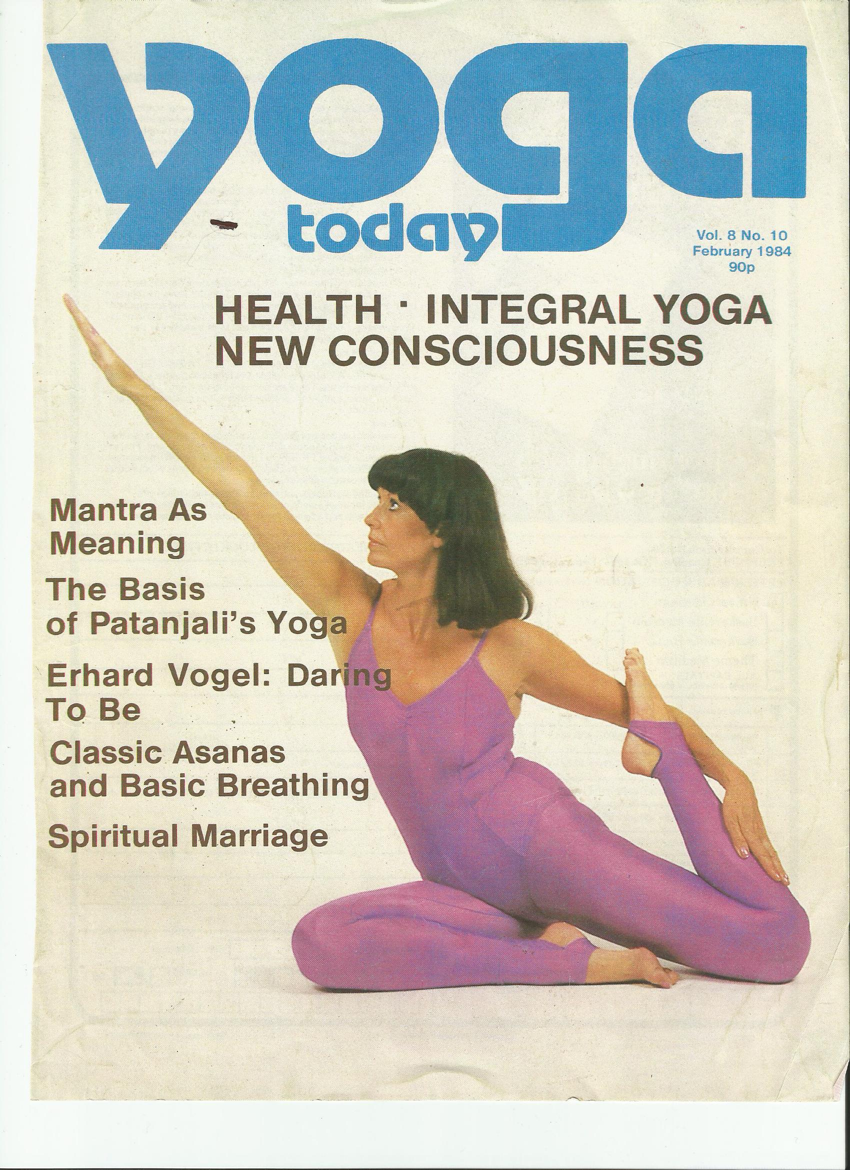 Yoga today 1984