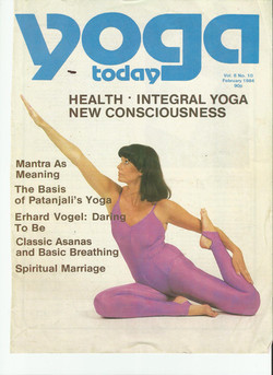 Yoga today 1984