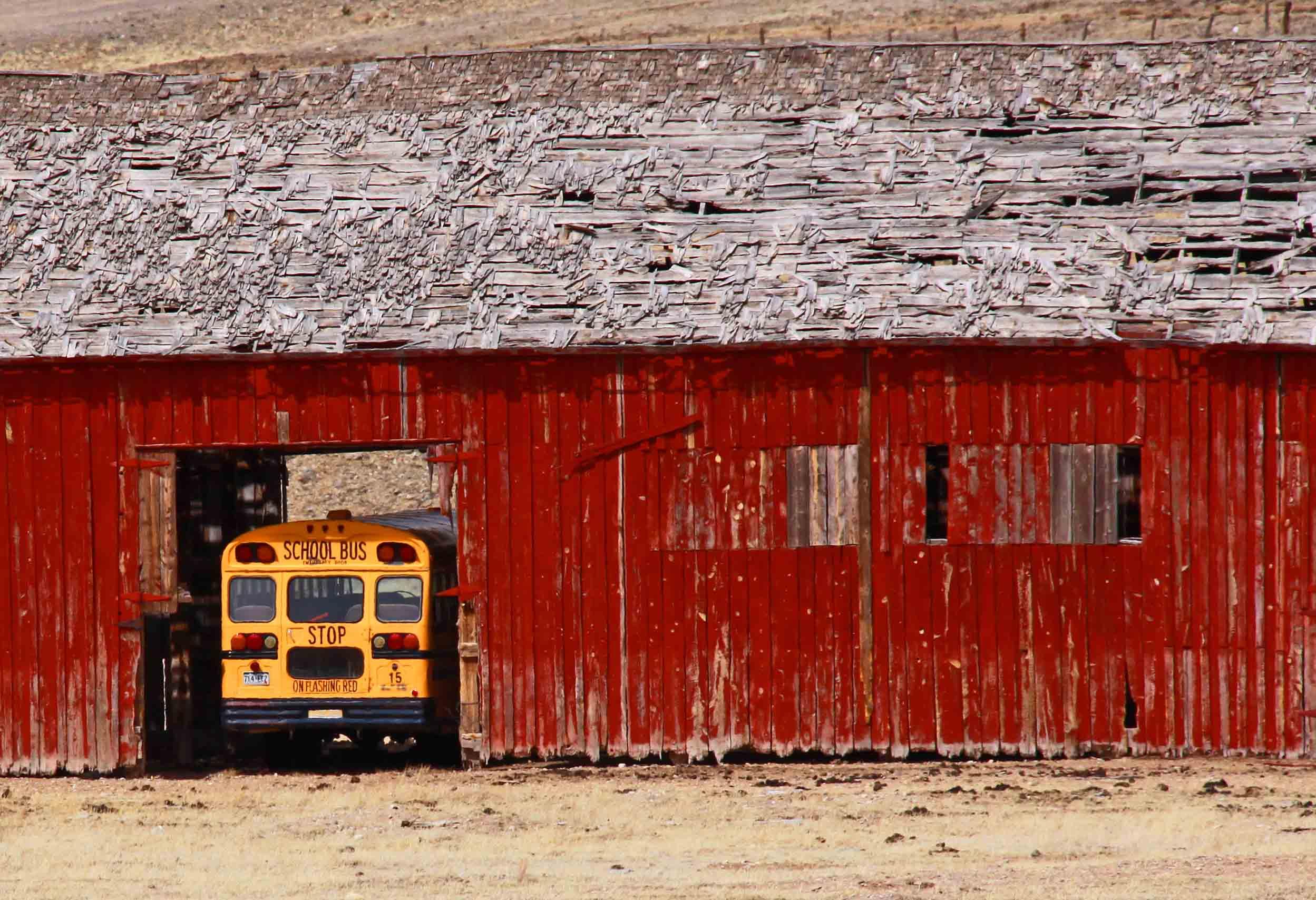 Bus Barn - Hartsel, Colorado