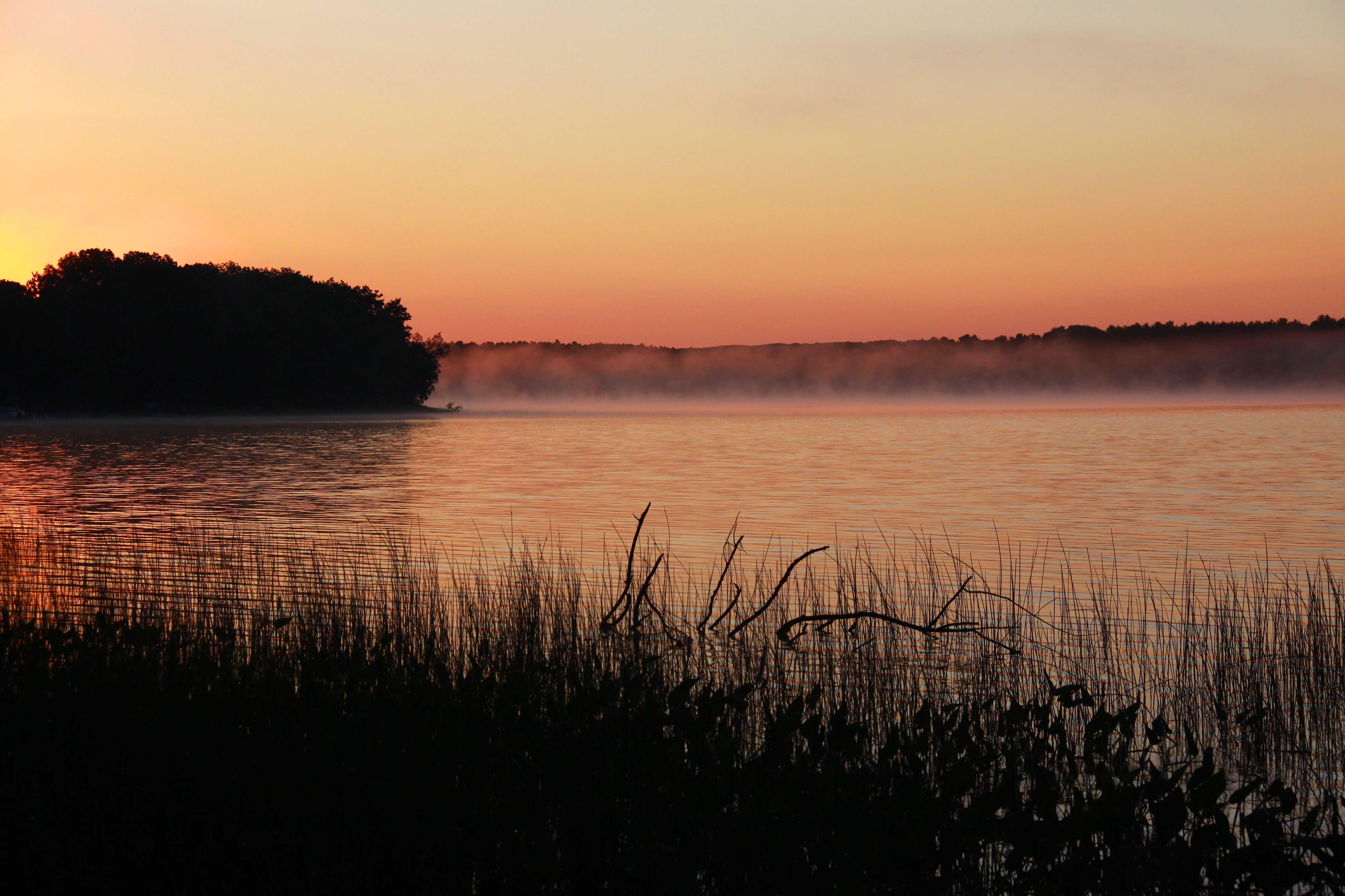 Sunrise on Whitefish Lake - Stone Lake, Wisconsin
