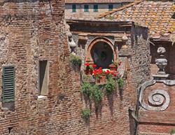 Rooftop Garden -  Siena, Italy