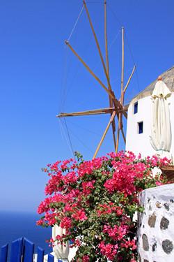 Windmill - Santorini, Greece