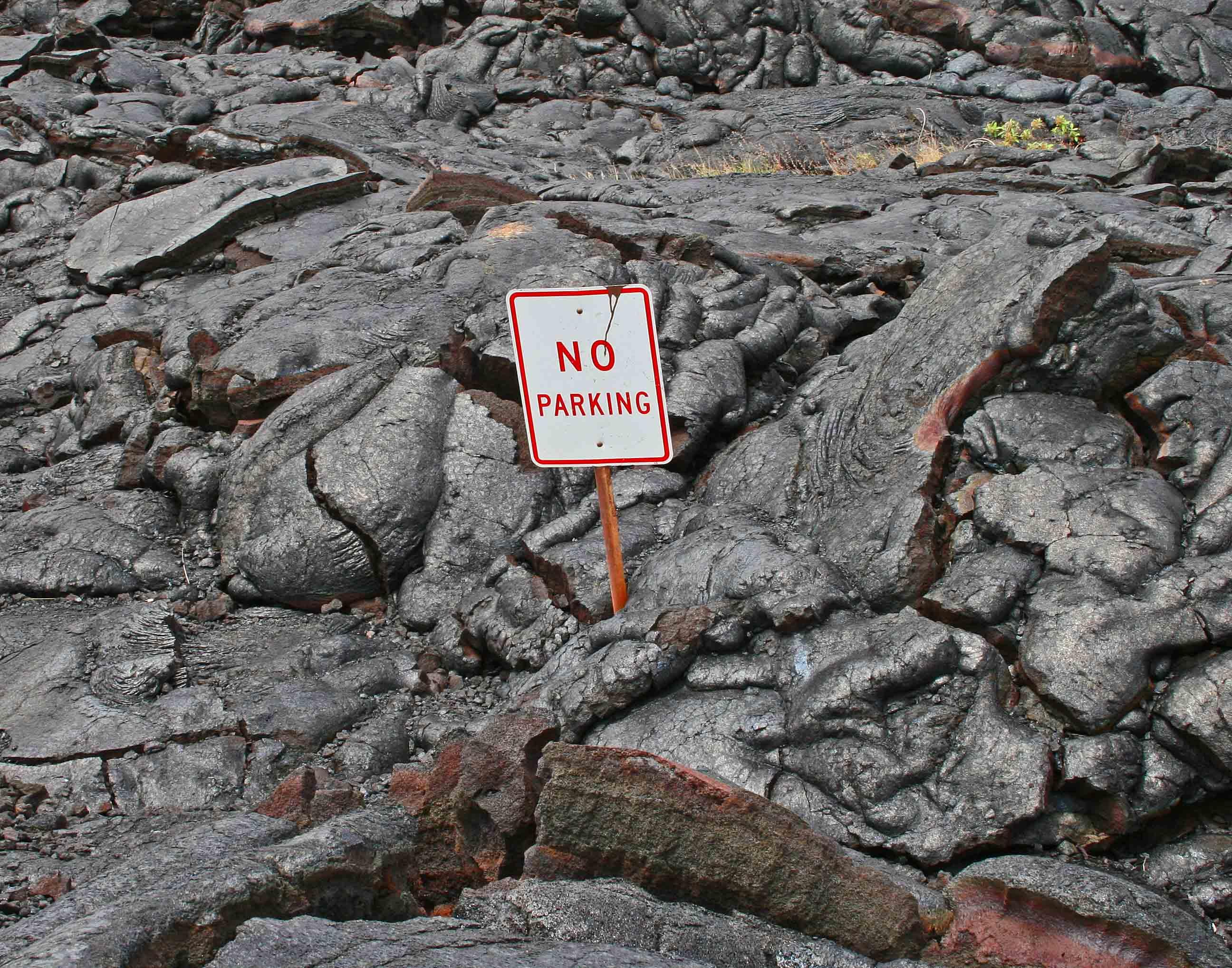 No Parking - Hawaii