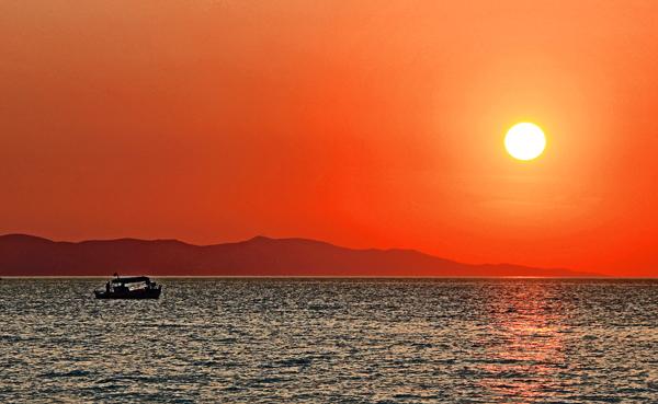 Sunset - Mykonos, Greece