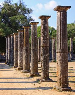 Silent Sentries - Olympia, Greece