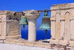 Two Bells - Santorini, Greece