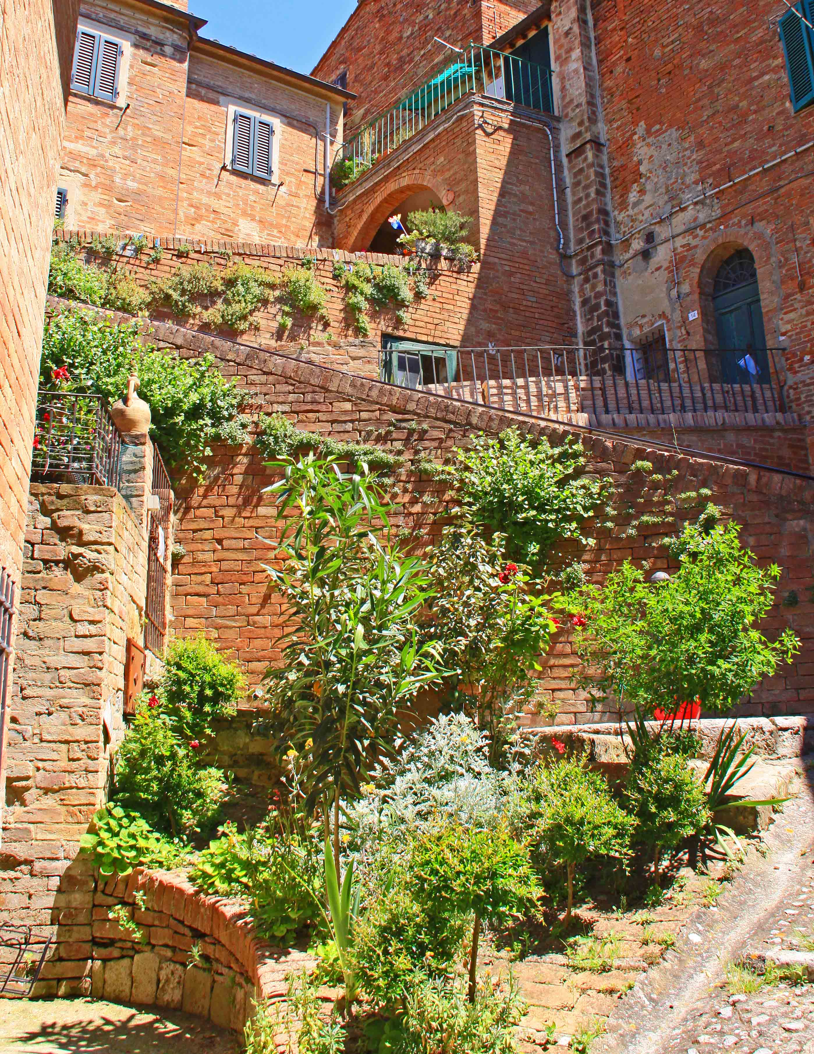 Terrace Stairs - Chiusure, Italy