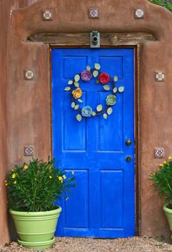 Blue Door - Santa Fe, New Mexico