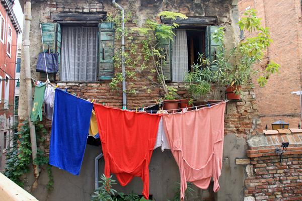 Laundry Day - Venice, Italy