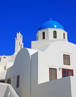 Greek Orthodox Chruch - Santorini, Greece
