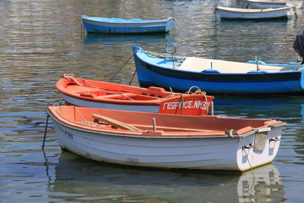 Boats in the Mykonos Harbor - Mykonos, Greece