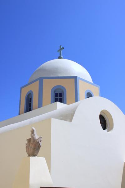 Greek Church - Santorini, Greece