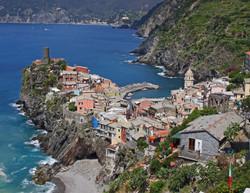 Village Scape - Vernazza, Italy